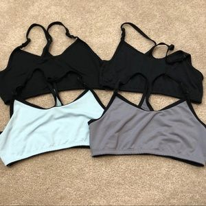 Fruit of the Loom Group of 4 Racerback Sports Bra